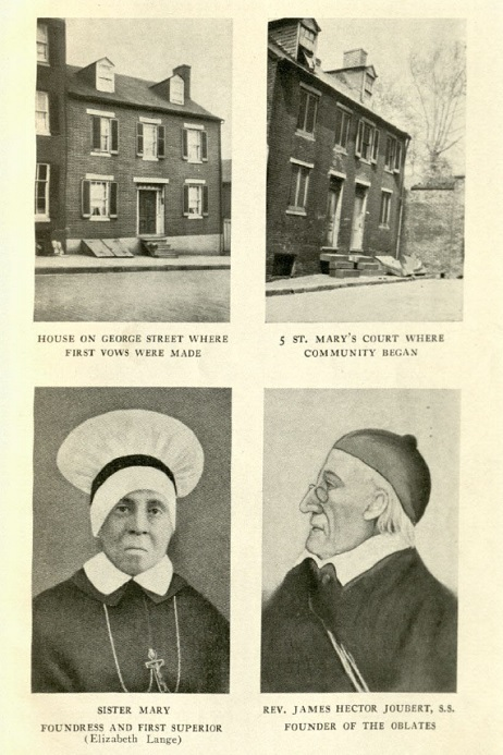 Oblate Sisters – Woodstock Theological Library